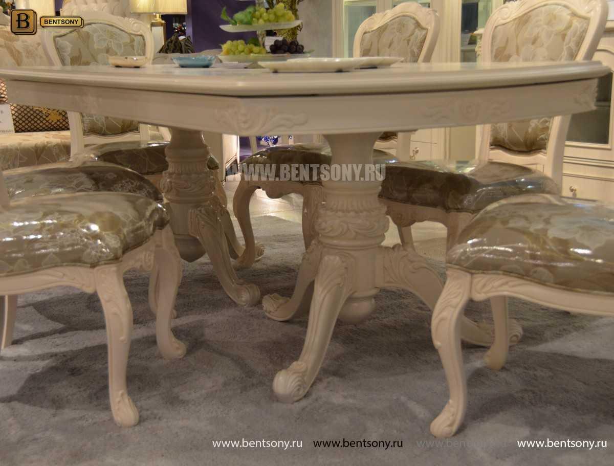 Стол обеденный раздвижной Флетчер-W (Классика, массив дерева) распродажа