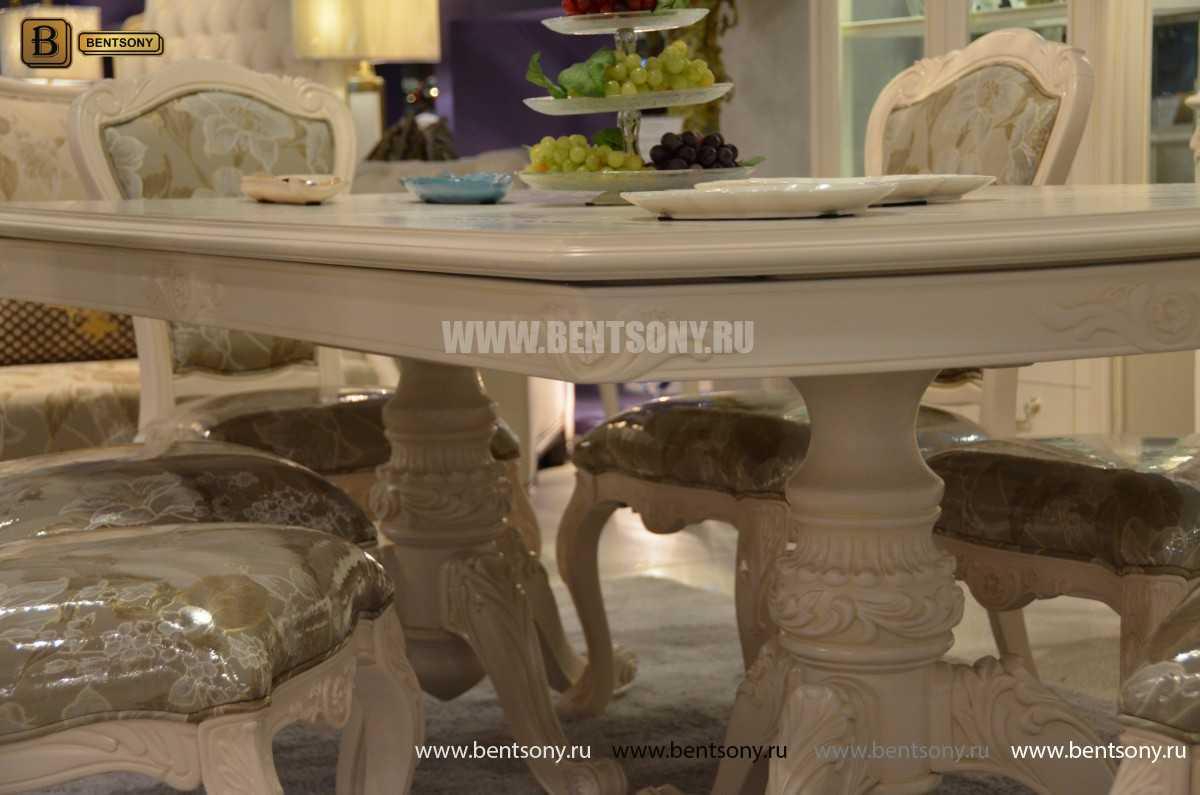 Стол обеденный раздвижной Флетчер-W (Классика, массив дерева) купить