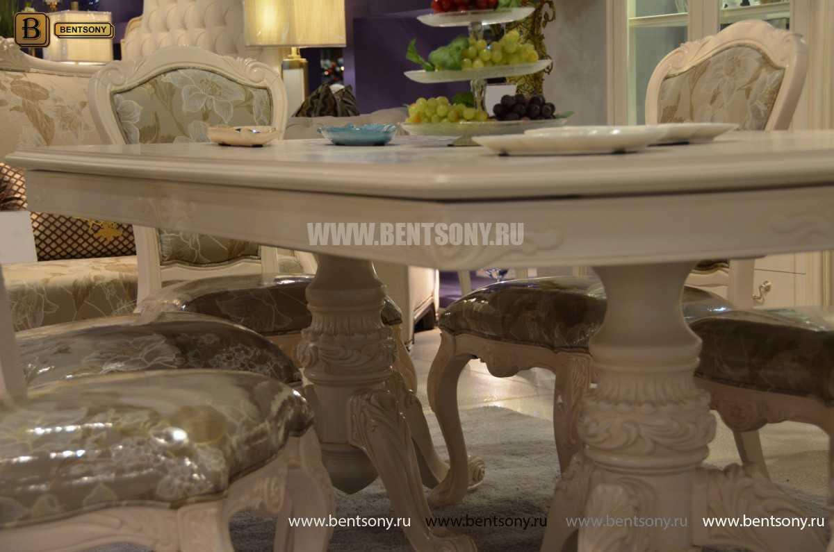 Стол обеденный раздвижной Флетчер-W (Классика, массив дерева) цена