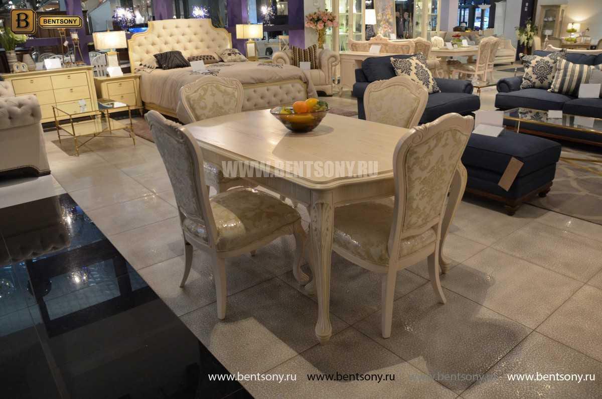 Стол обеденный прямоугольный Флетчер-W (Классика, массив дерева) цена