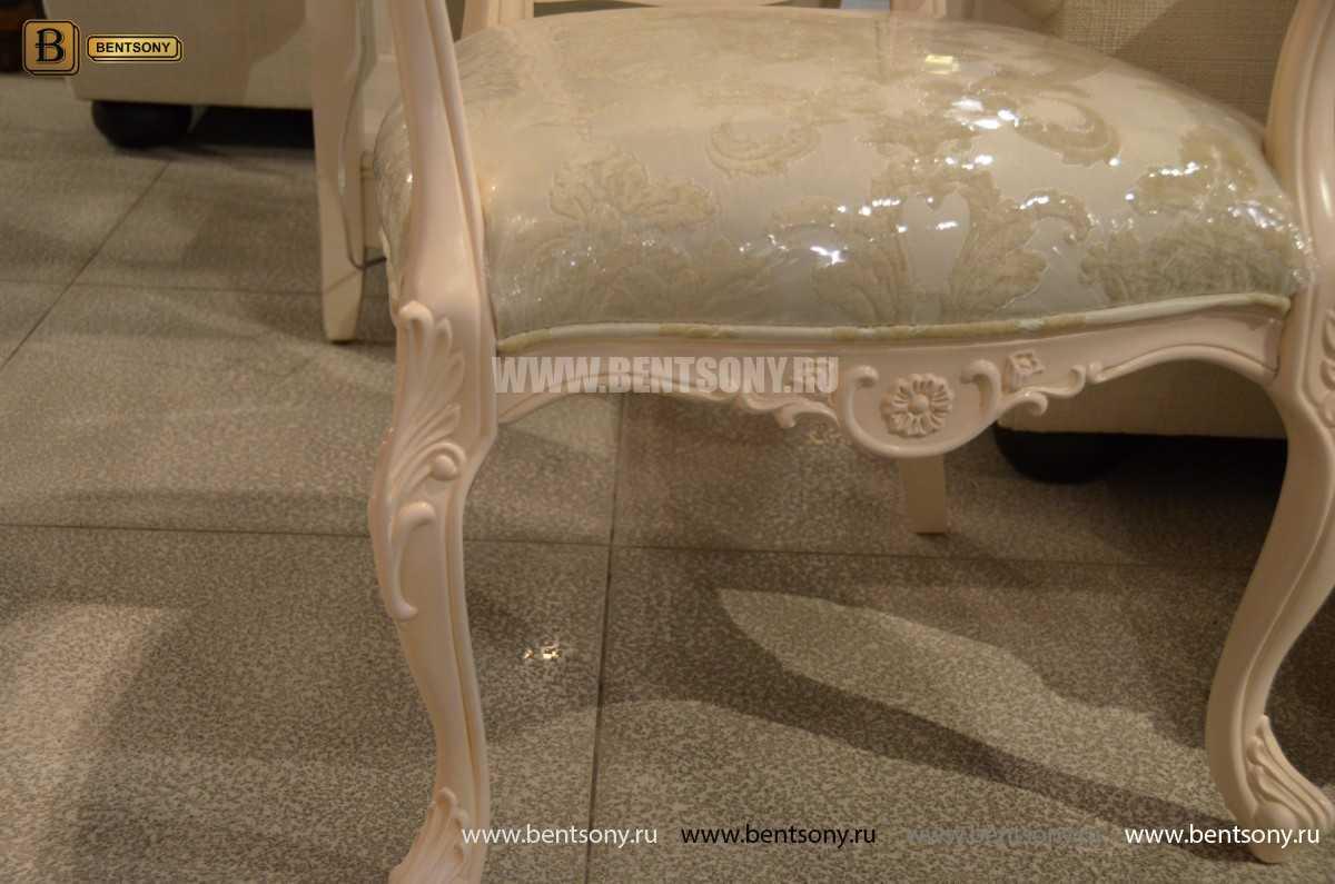 Классический Стул Флетчер-W А с подлокотниками (Ткань) каталог мебели