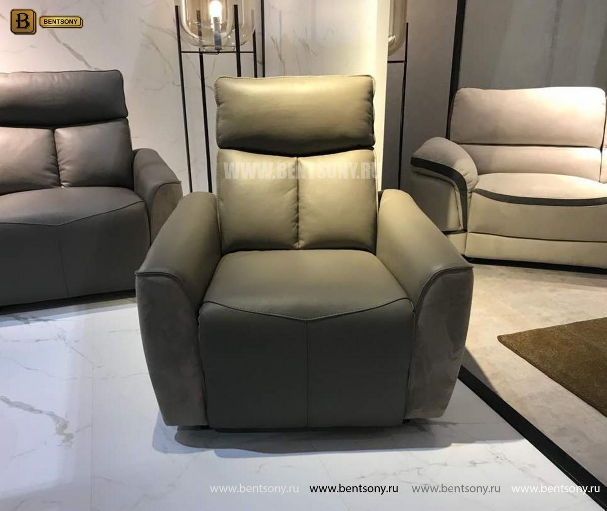 Кресло Тартуфо (Реклайнер, Натуральная Кожа, Алькантара) каталог мебели с ценами