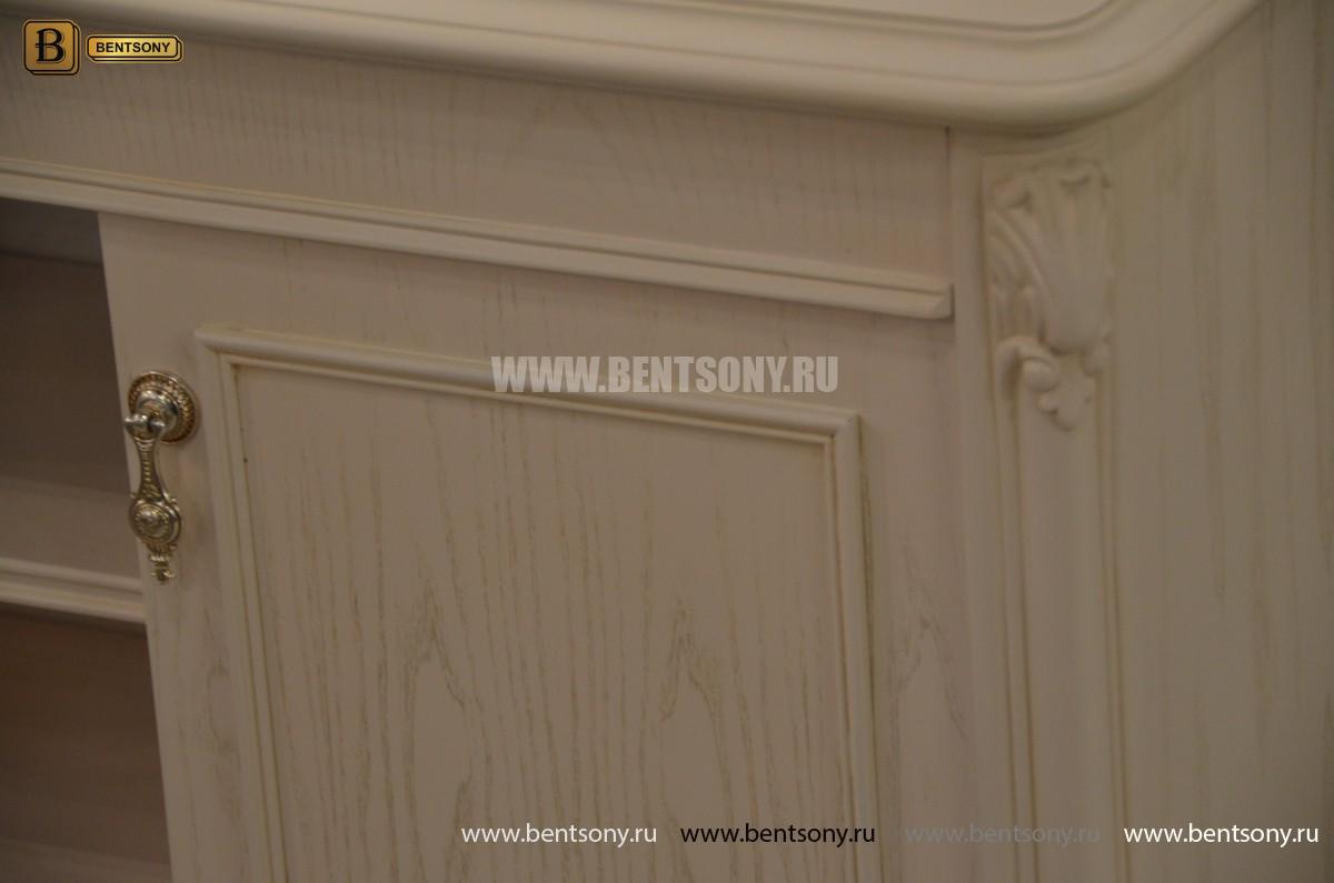 Тумба придиванная Флетчер-W (Классика, массив дерева) купить в Москве