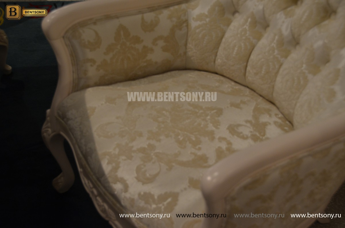 Кресло Флетчер-W (Классика, ткань) в интерьере