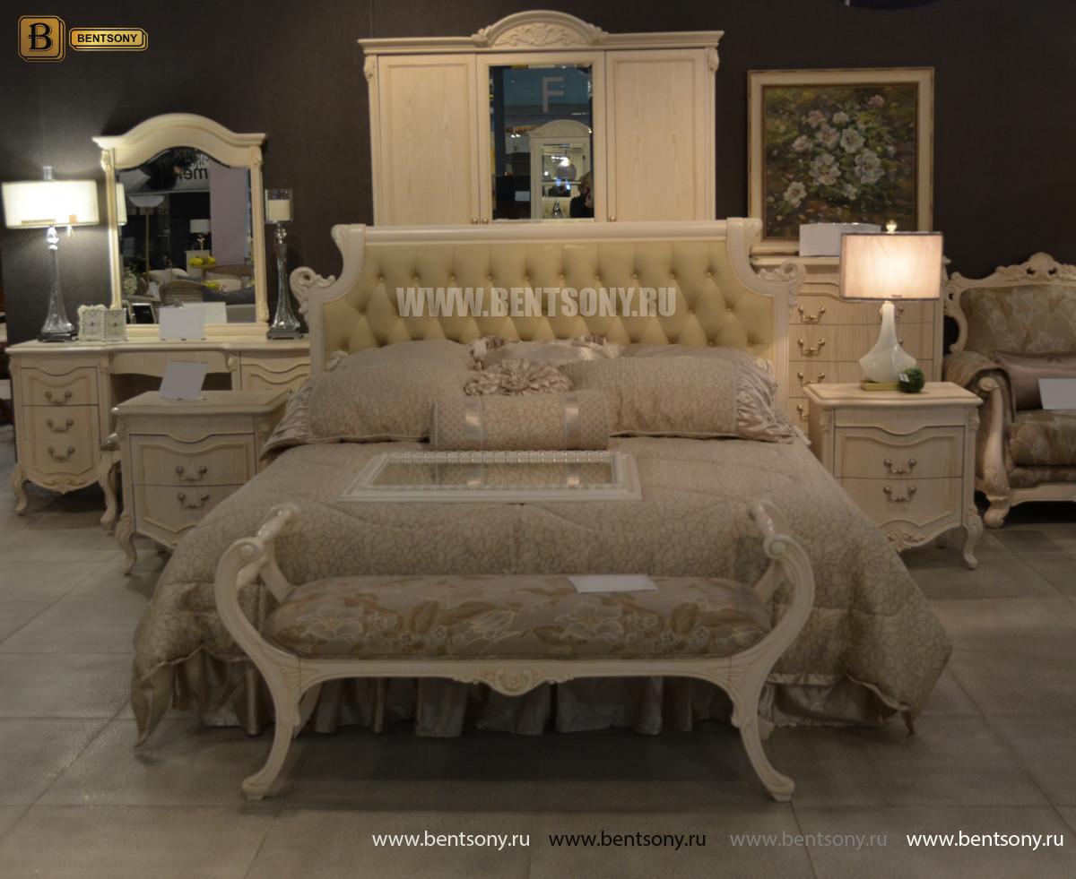 Кровать Флетчер-W D (Классика, Ткань) изображение