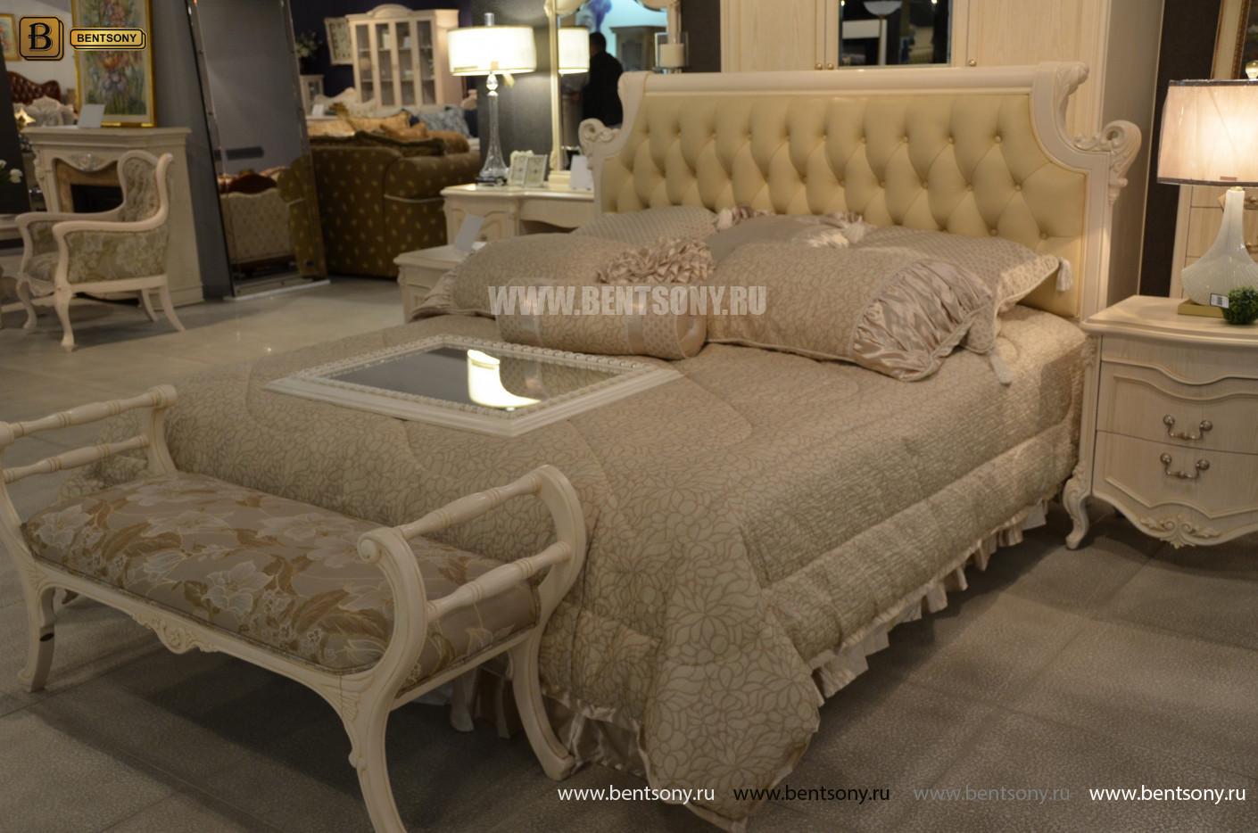 Кровать Флетчер-W D (Классика, Ткань) для квартиры