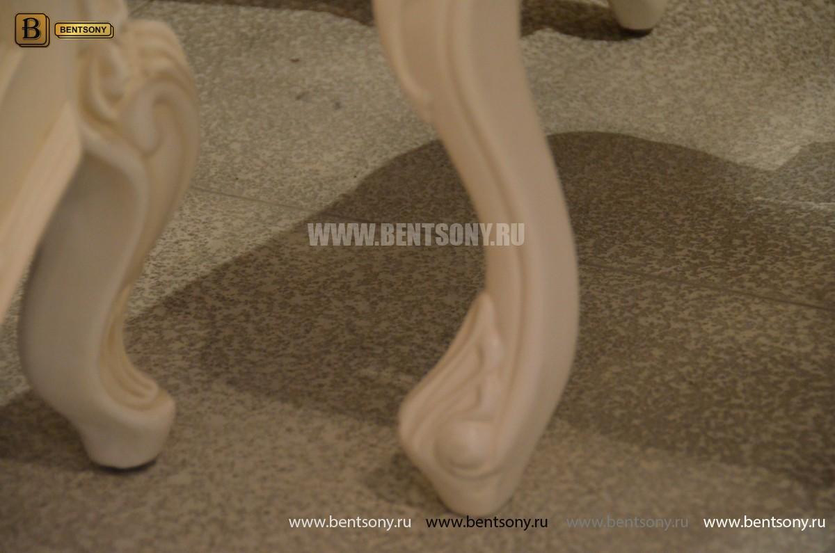 Стол туалетный Флетчер-W А с зеркалом (Классика, массив дерева) каталог мебели с ценами