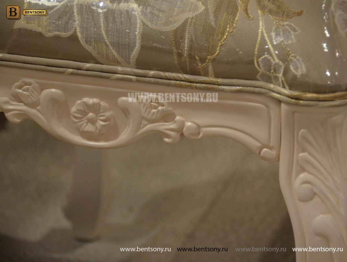 Пуф классический Флетчер-W (ткань) купить в СПб