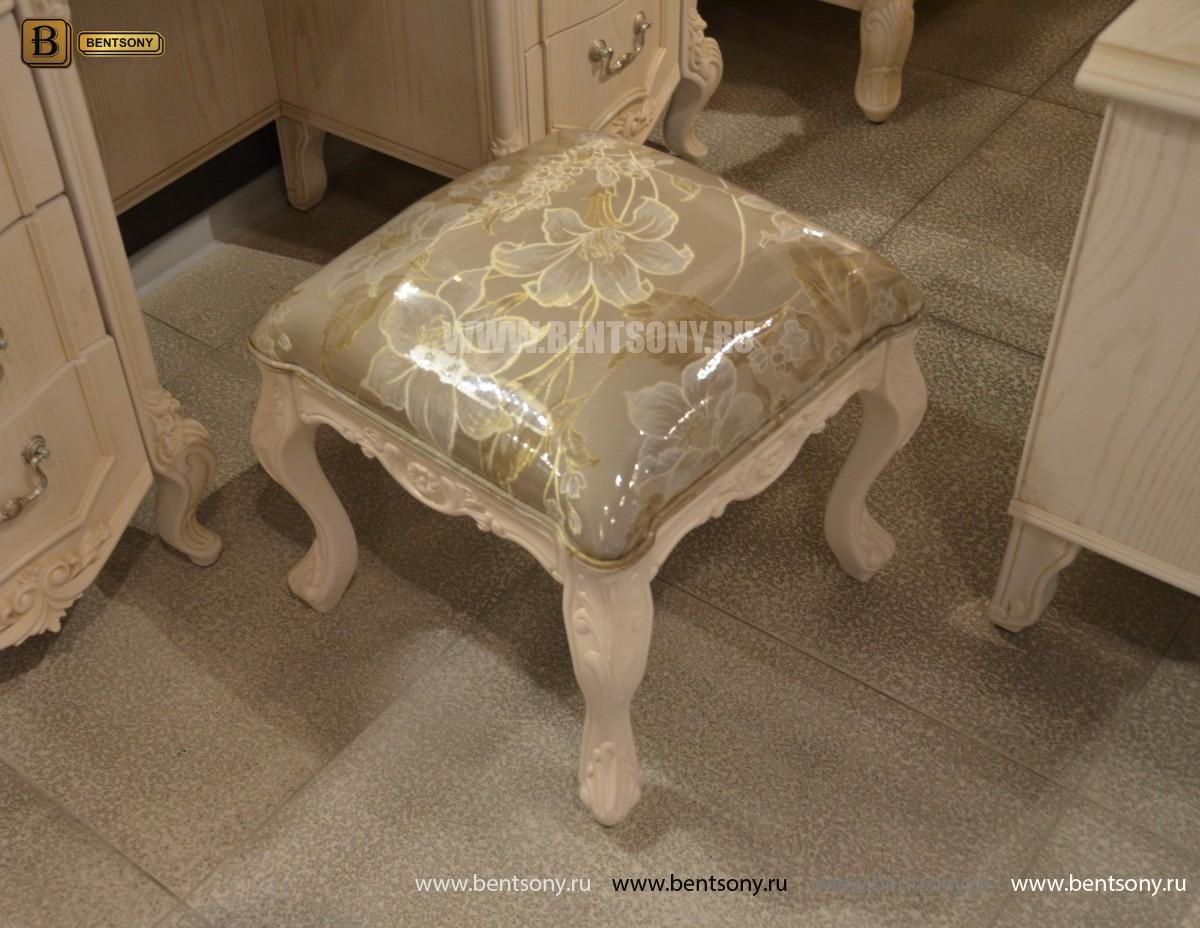 Пуф классический Флетчер-W (ткань) для загородного дома