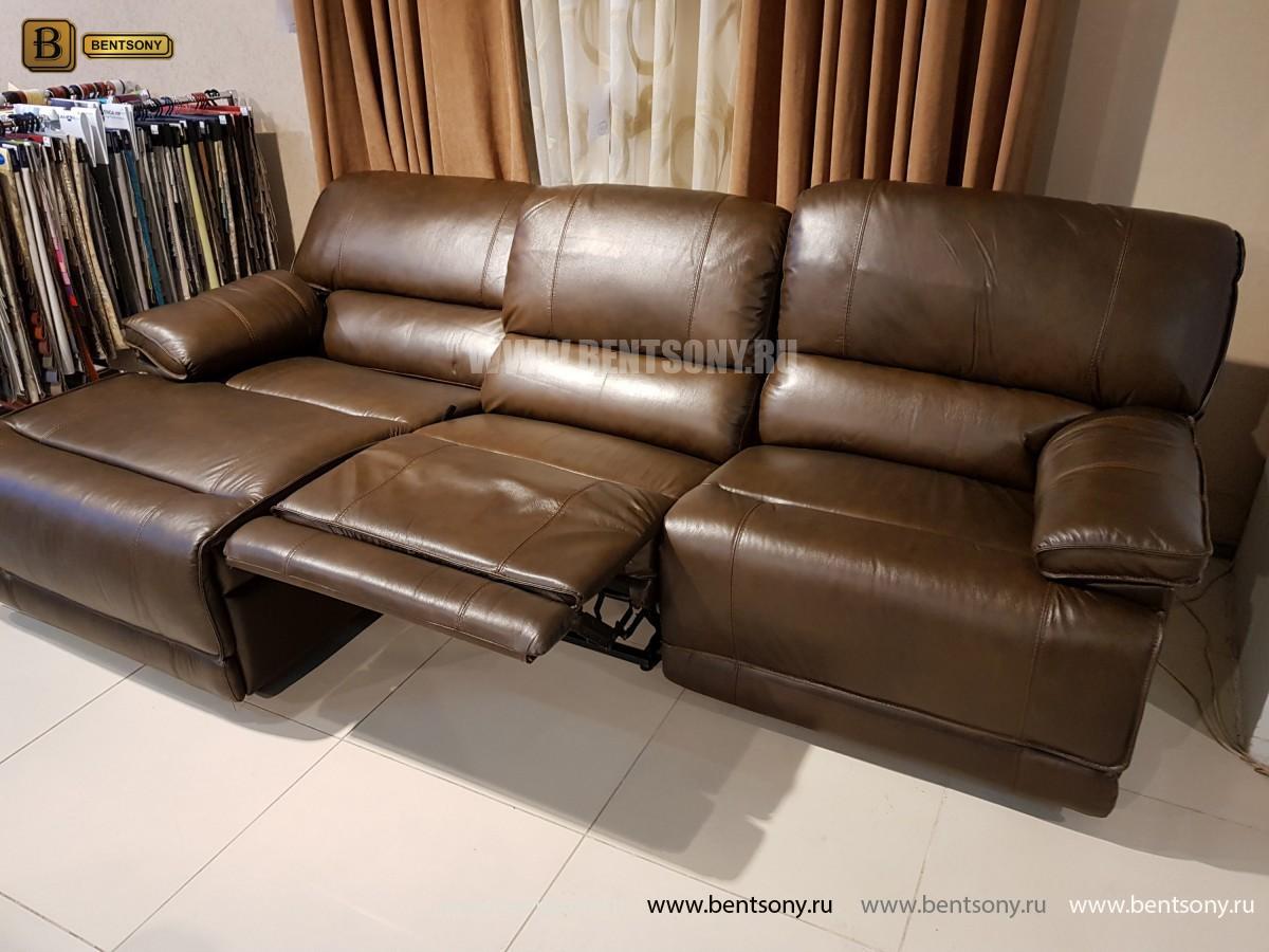 Диван Капонело (Шезлонг, Натуральная Кожа) каталог мебели с ценами