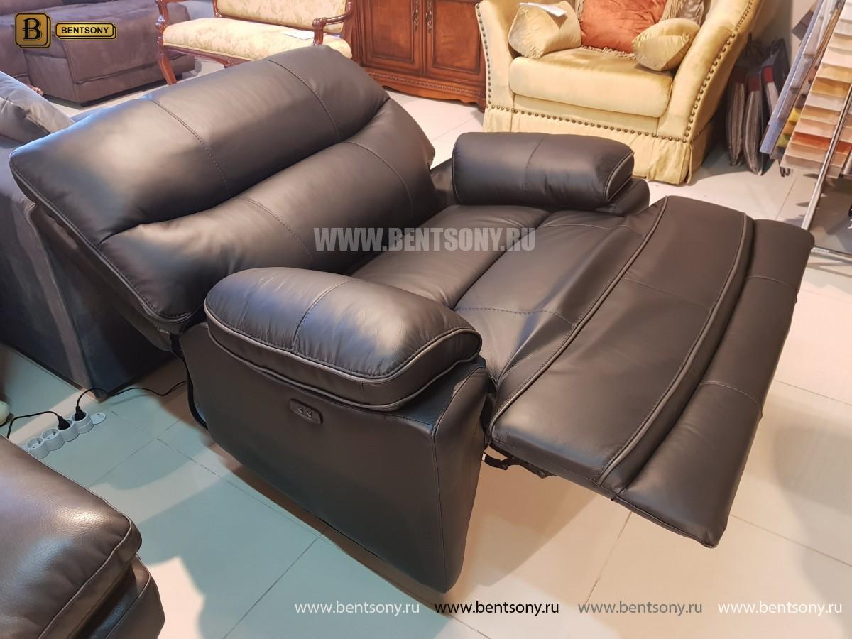 Кресло Терамо (Натуральная кожа, Реклайнер) официальный сайт цены