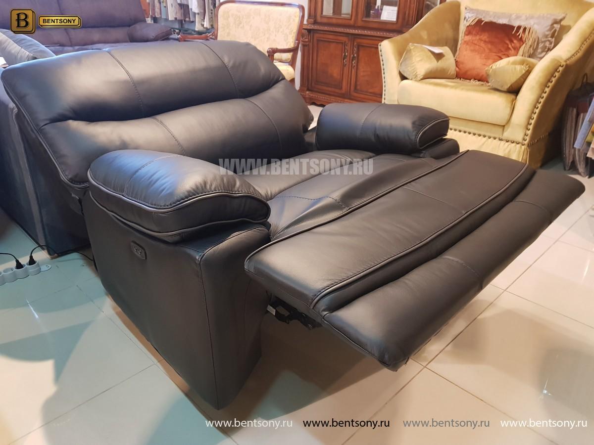 Кресло Терамо (Натуральная кожа, Реклайнер) для квартиры