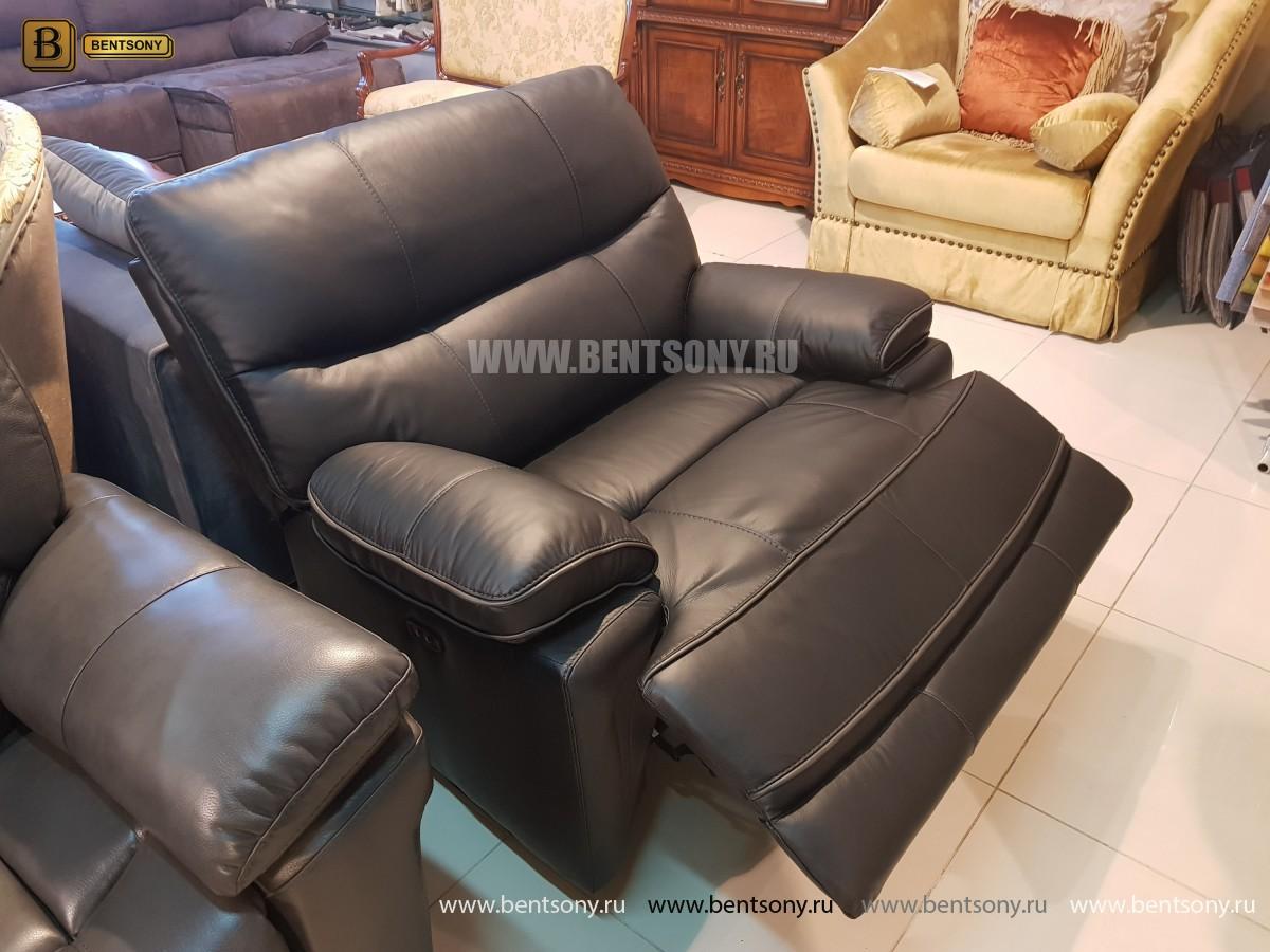 Кресло Терамо (Натуральная кожа, Реклайнер) в Москве