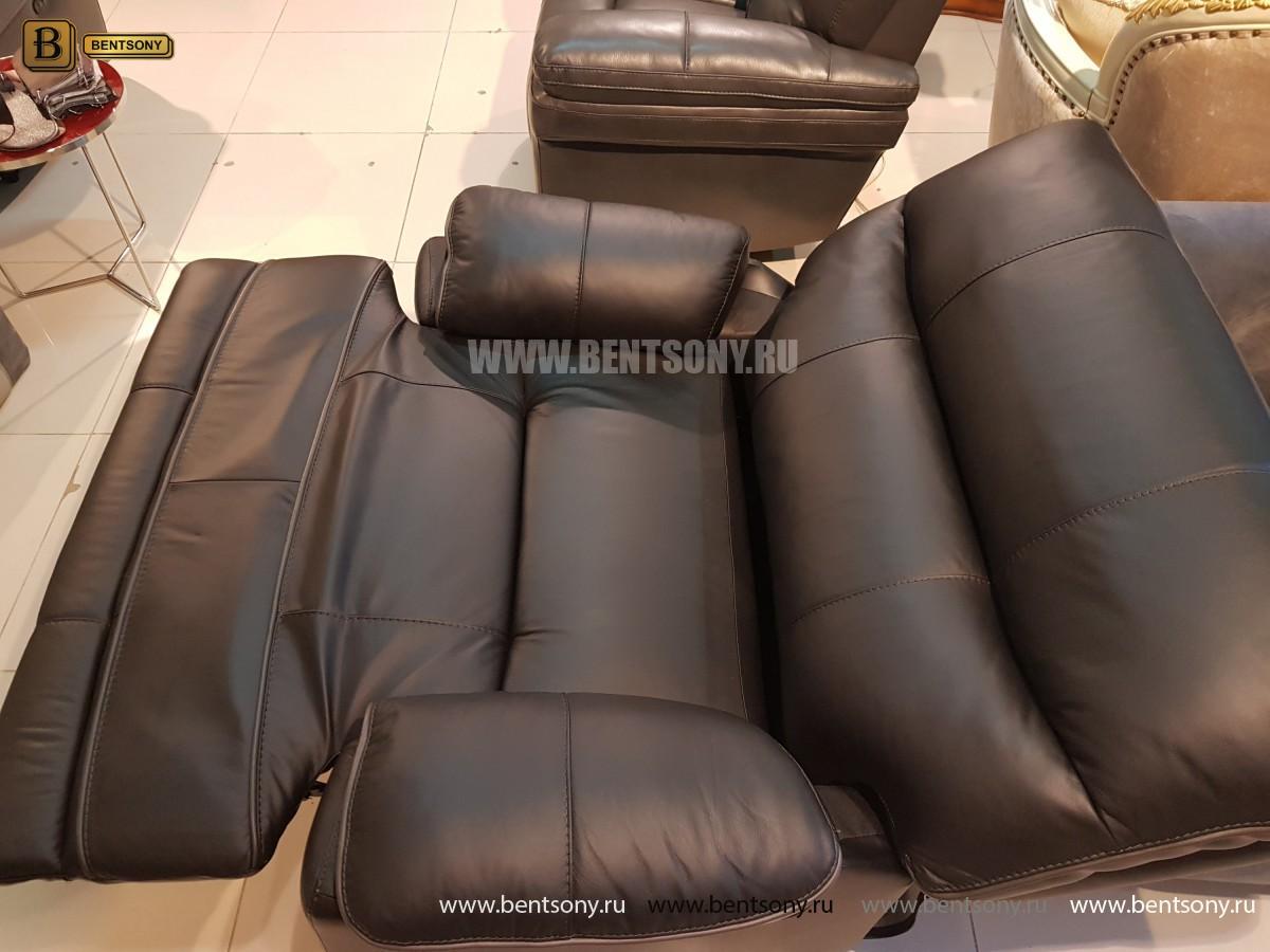 Кресло Терамо (Натуральная кожа, Реклайнер) в СПб