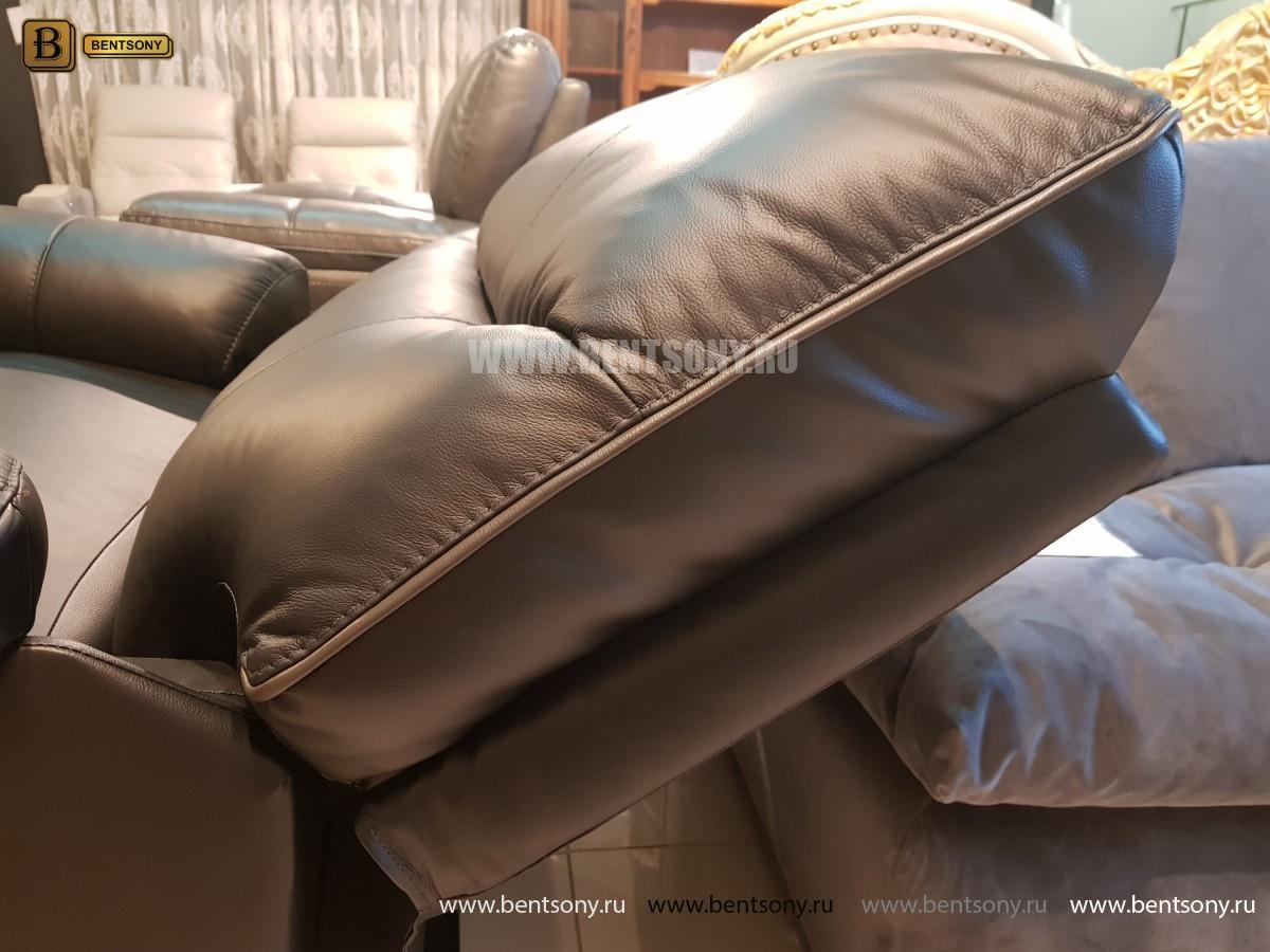 Кресло Терамо (Натуральная кожа, Реклайнер) в интерьере