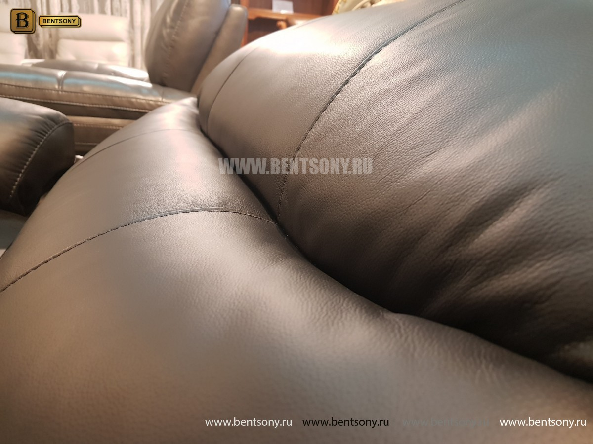 Кресло Терамо (Натуральная кожа, Реклайнер) сайт цены