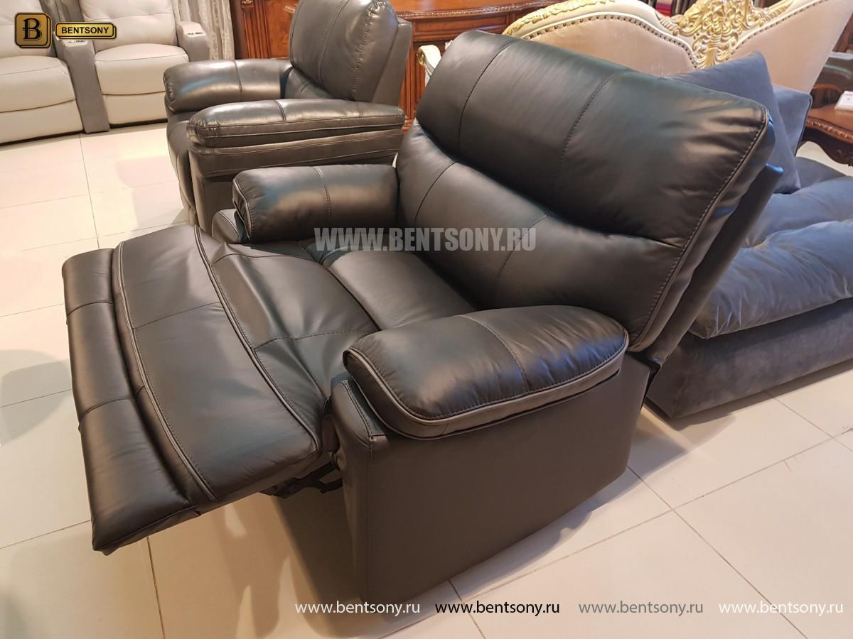 Кресло Терамо (Натуральная кожа, Реклайнер) распродажа