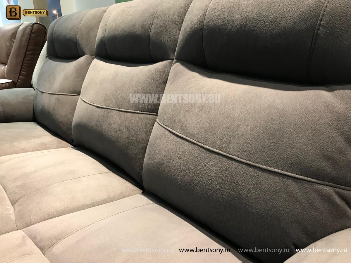 Диван Аккордо (Реклайнеры, Алькантара) каталог мебели
