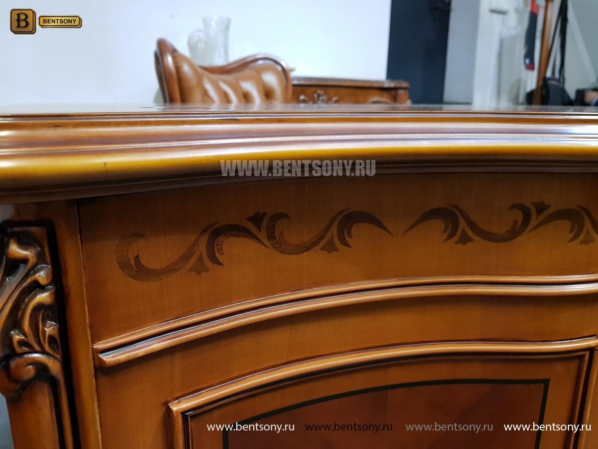 Письменный стол Флетчер А (Классика, массив дерева) для загородного дома