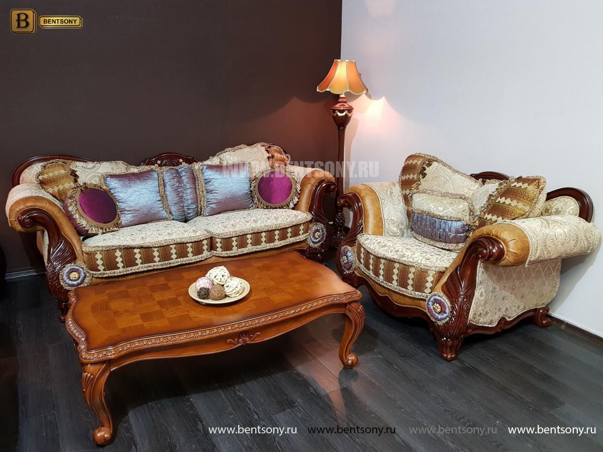 Кресло Вагнер С классическое (Подлокотники кожа) цена