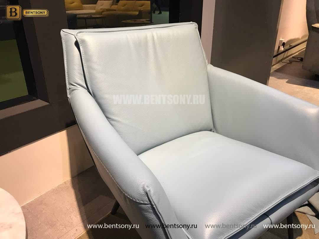 Кресло Соризо (Натуральная кожа, Металлические ножки) магазин Москва