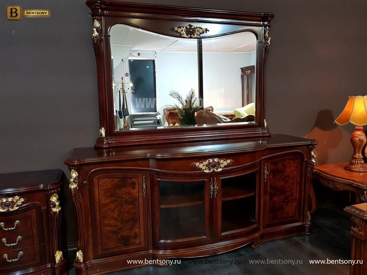 Зеркало к Комоду Вагнер (Классика, массив дерева)  изображение