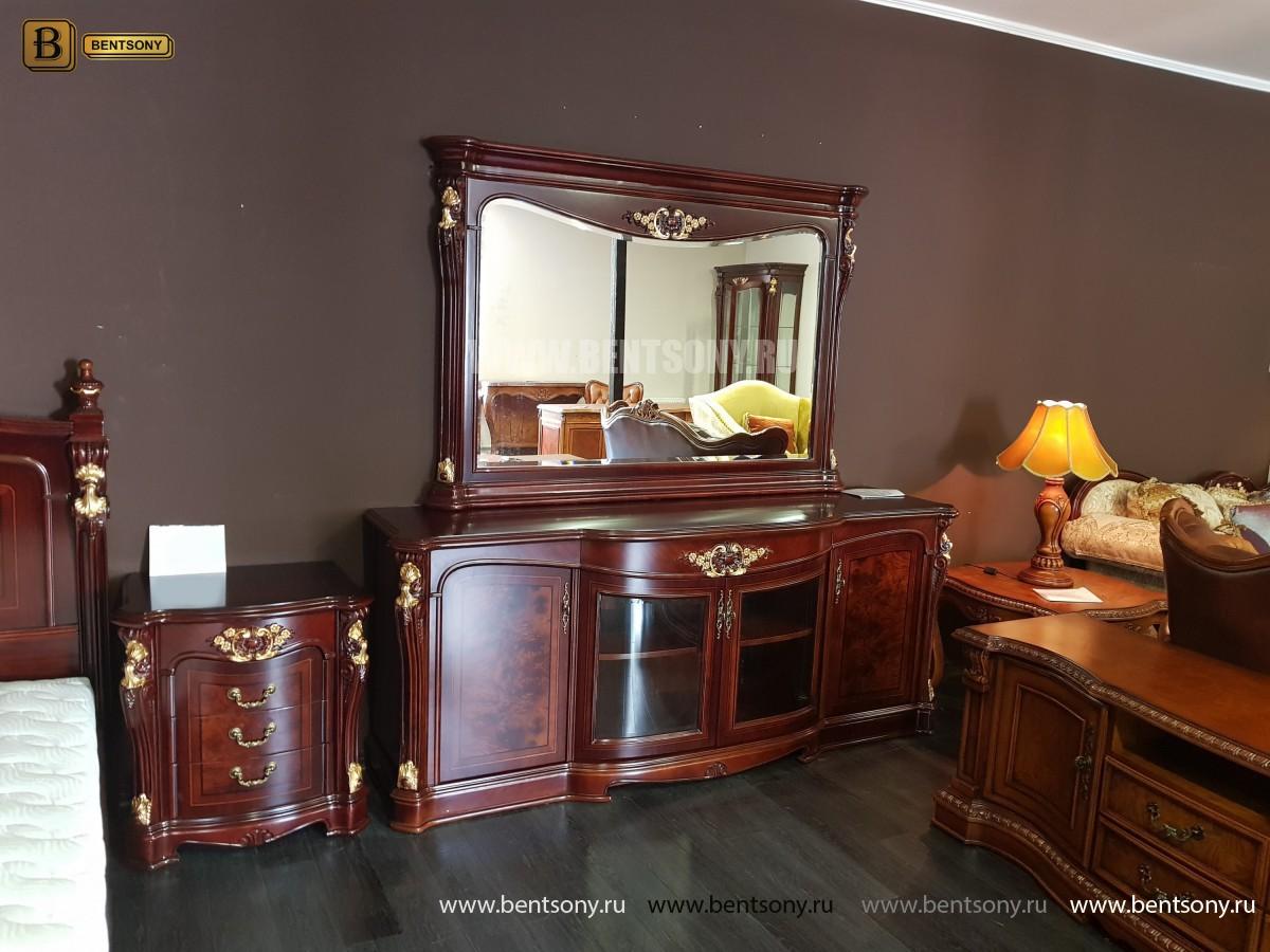 Зеркало к Комоду Вагнер (Классика, массив дерева)  фото