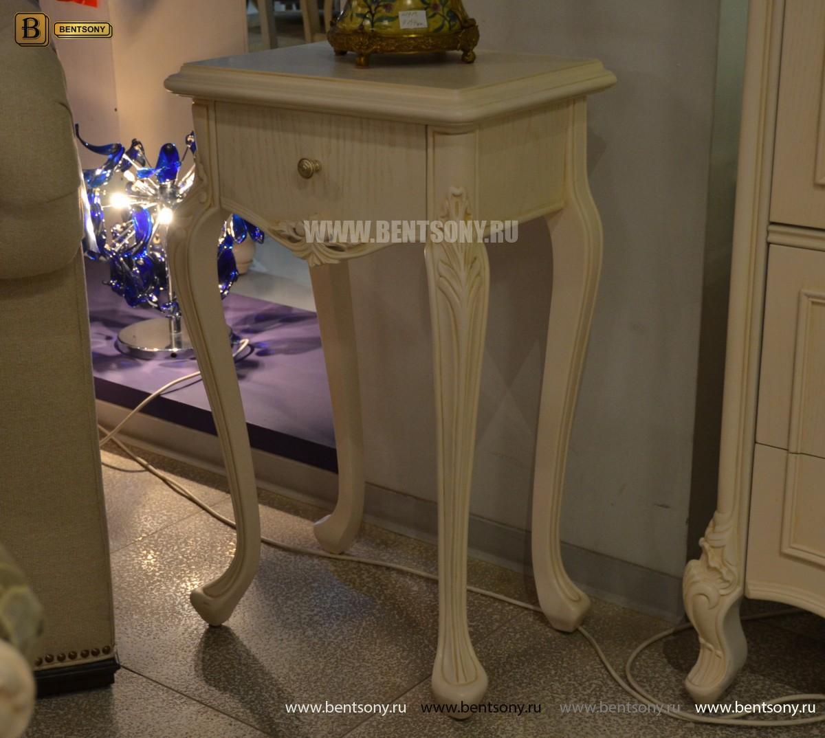 Столик под телефон Флетчер-W (Массив дерева, класика) каталог мебели