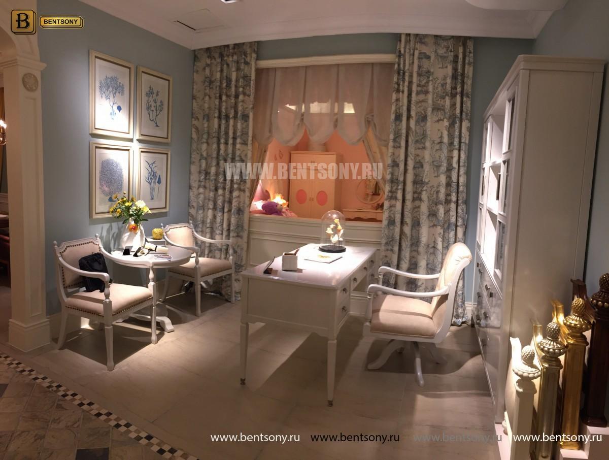 Кресло Кабинетное Фримонт-W белое для дома