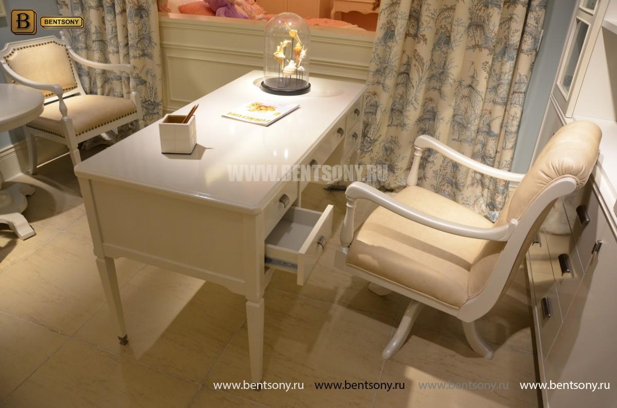 Кресло Кабинетное Фримонт-W белое купить в Москве