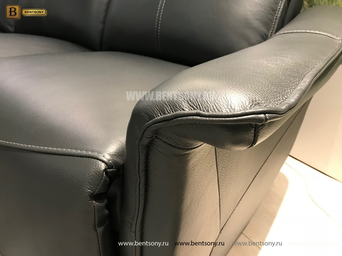 Кресло Анголо (Реклайнер, Натуральная кожа) сайт цены