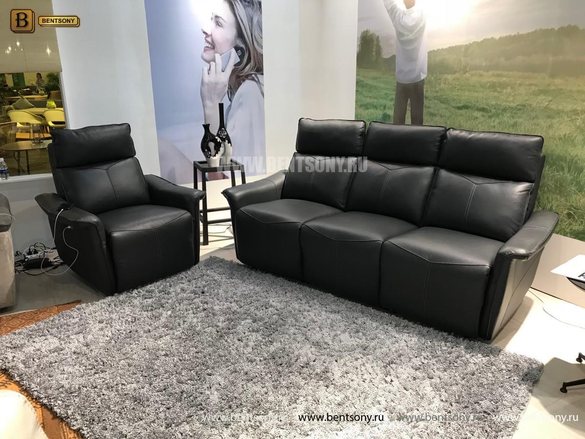 Кресло Анголо (Реклайнер, Натуральная кожа) магазин