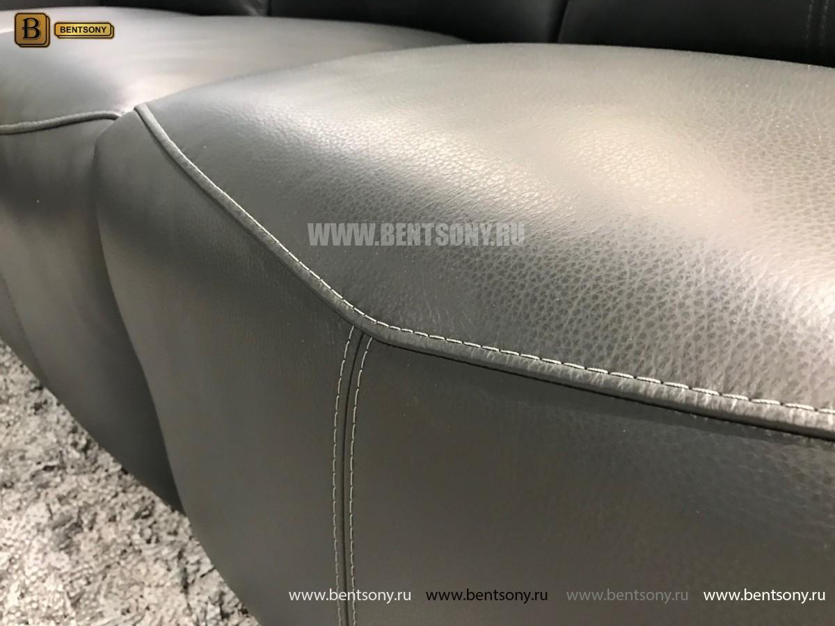 Кресло Анголо (Реклайнер, Натуральная кожа) для дома