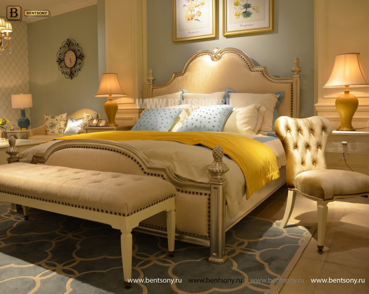 Спальня Фримонт-W белая (Классика, Ткань) купить