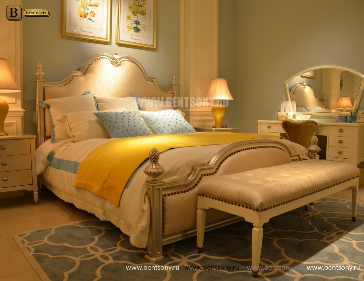 Кровать Фримонт-W G (Классика, Ткань) для квартиры