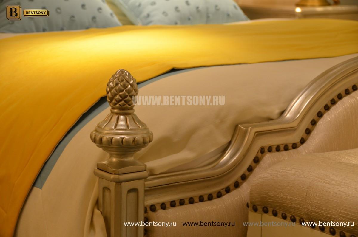 Кровать Фримонт-W G (Классика, Ткань) в интерьере