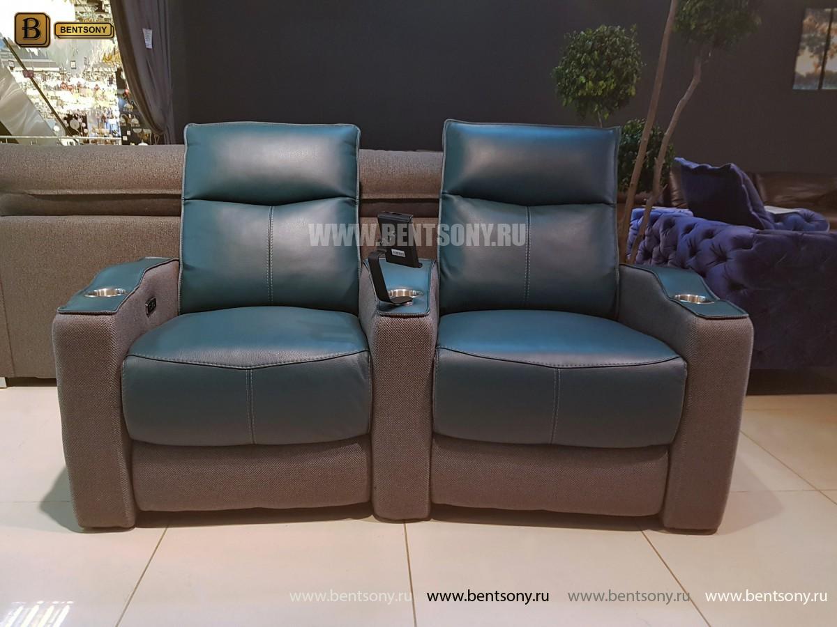 Диван Вердэ двойной (Реклайнеры, Кожа, Домашний кинотеатр) распродажа