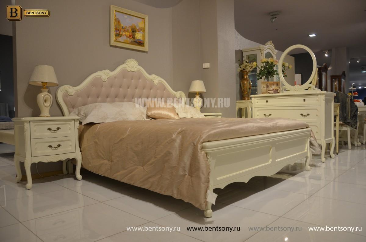 Спальня Габриель-W белая (Классика, Ткань) купить в СПб