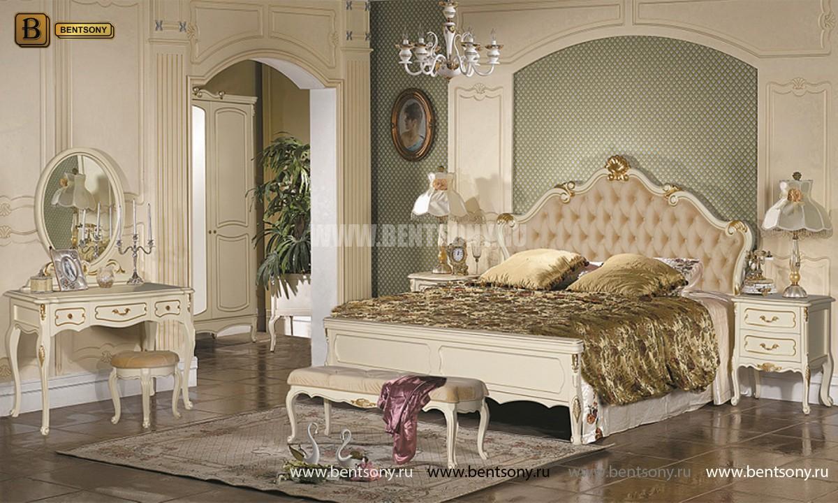Спальня Габриель-W белая (Классика, Ткань) каталог мебели