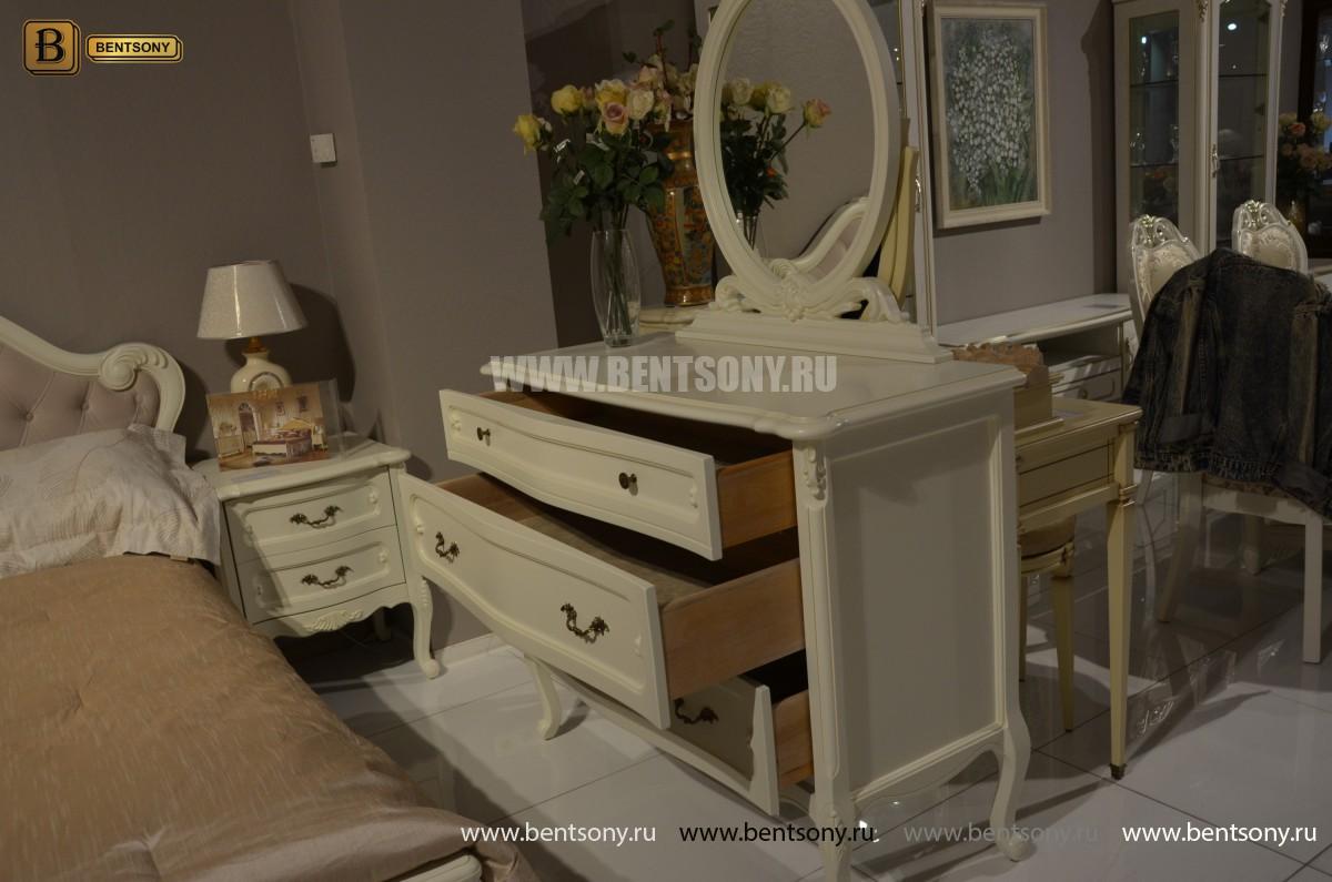 Спальня Габриель-W белая (Классика, Ткань) каталог с ценами