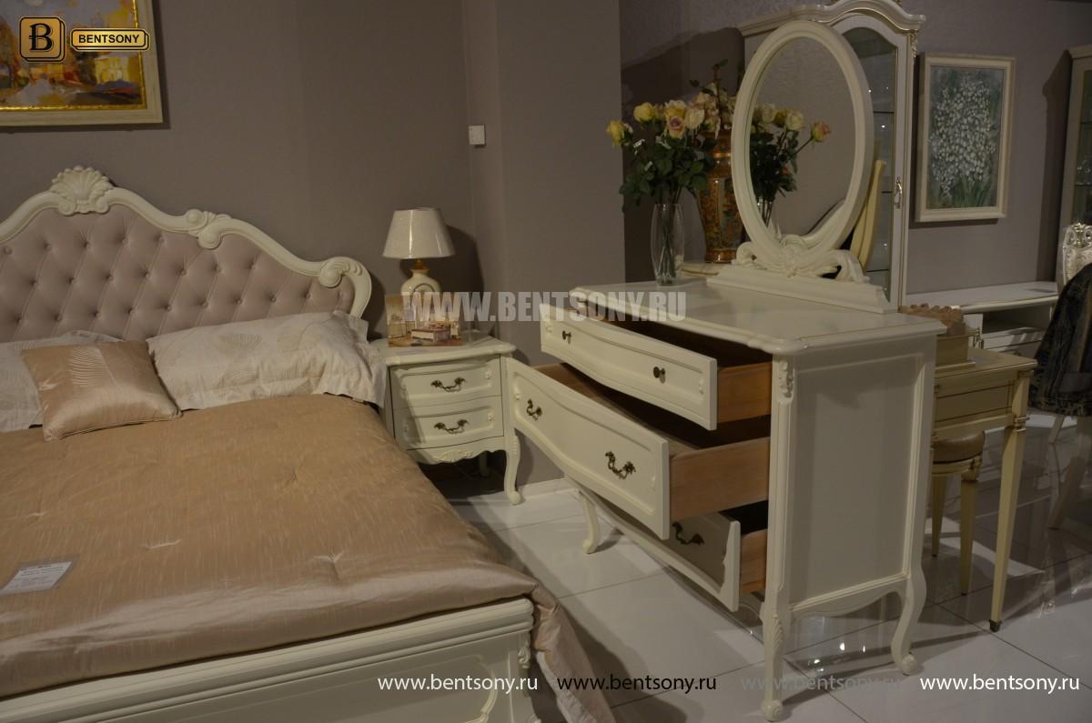 Спальня Габриель-W белая (Классика, Ткань) цена
