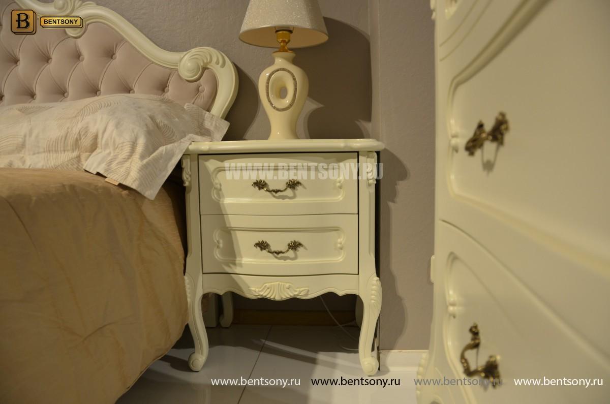 Спальня Габриель-W белая (Классика, Ткань) интернет магазин