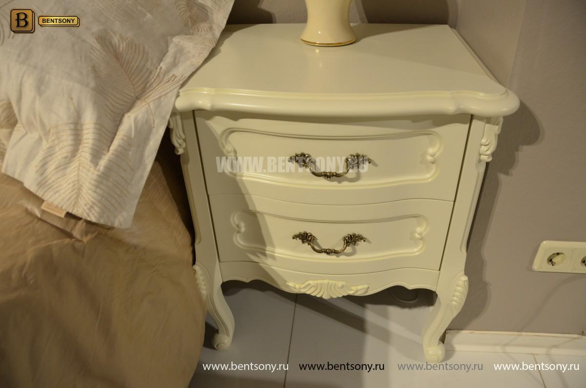 Спальня Габриель-W белая (Классика, Ткань) купить