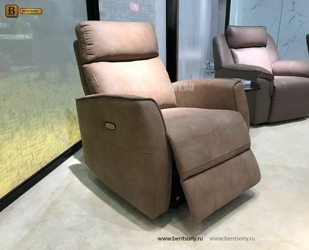 Кресло Вестито с подъемным механизмом (Реклайнер, Ткань) цена