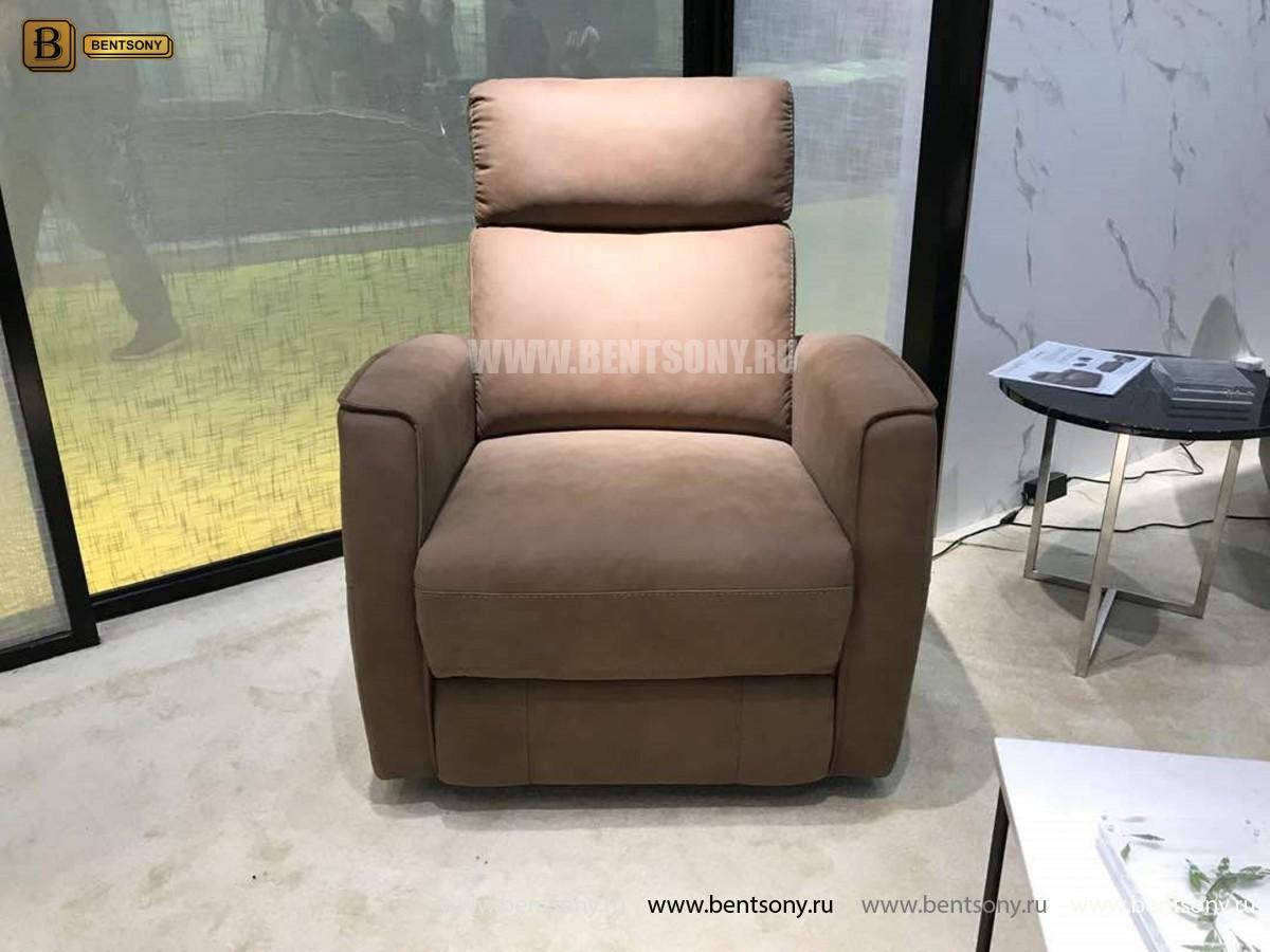 Кресло Вестито с подъемным механизмом (Реклайнер, Ткань) в интерьере