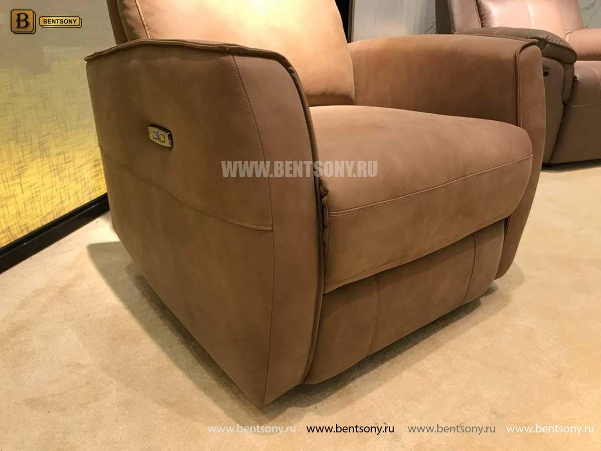 Кресло Вестито с подъемным механизмом (Реклайнер, Ткань) для квартиры