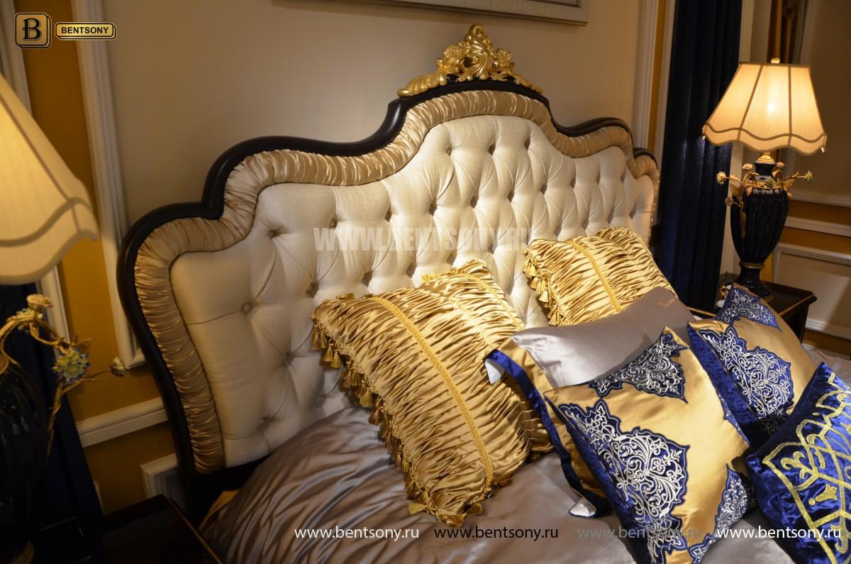Классическая Спальня Конкорд (Обивка ткань) фото