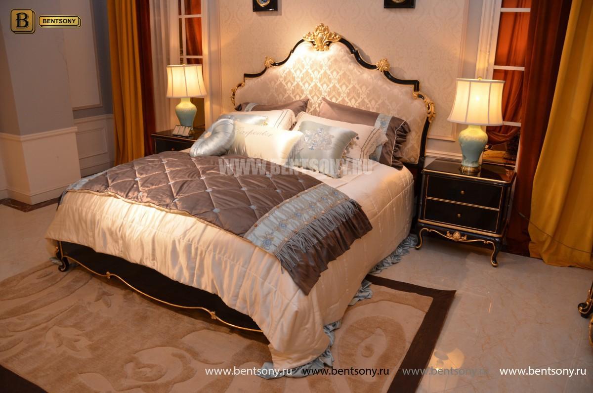 Классическая Спальня Конкорд (Изголовье ткань) каталог мебели с ценами