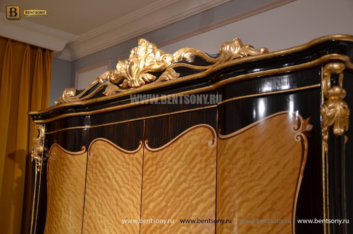 Шкаф 4-х дверный Конкорд (Массив дерева, Классика) цена