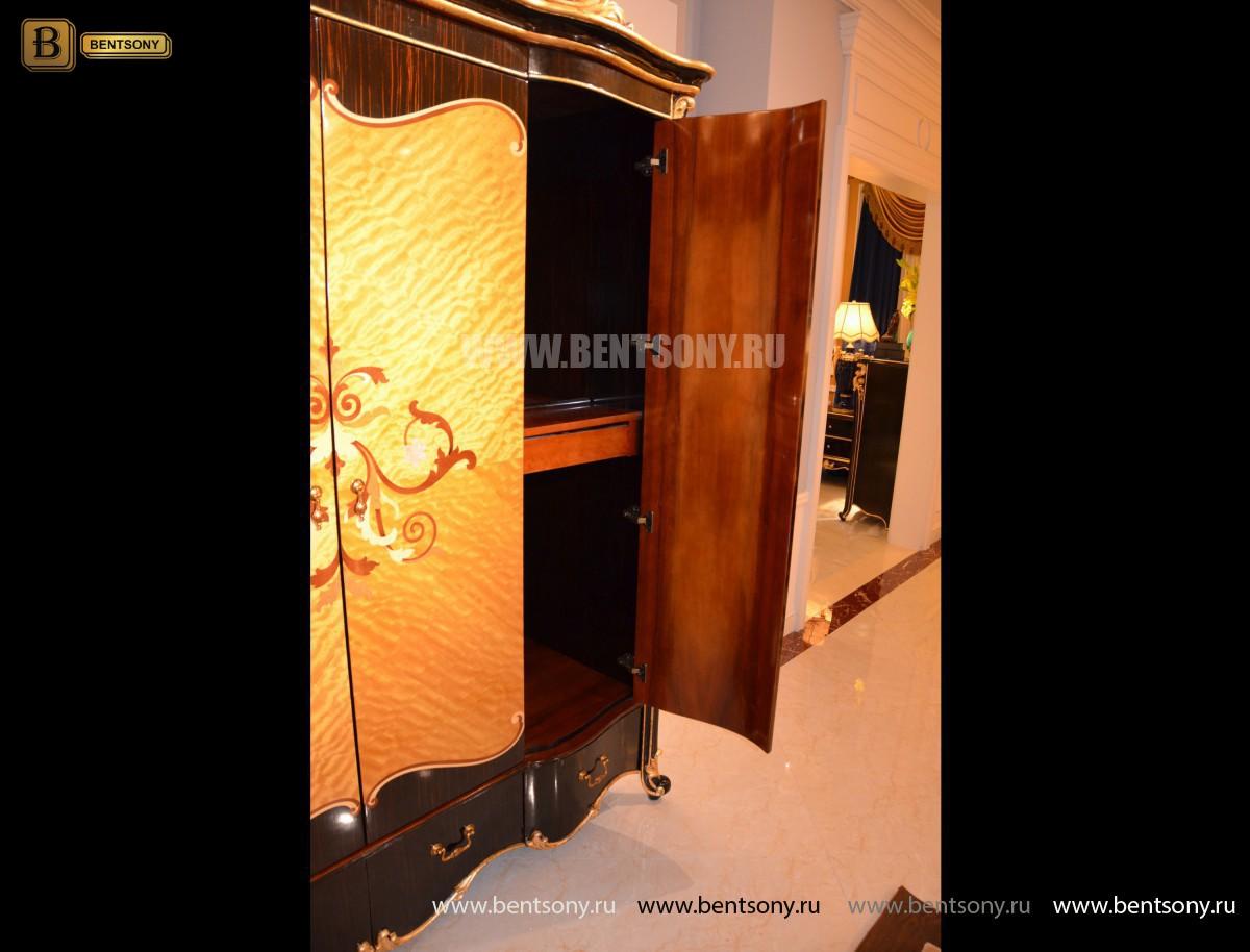 Шкаф 4-х дверный Конкорд (Массив дерева, Классика) официальный сайт цены